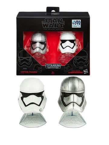 Star Wars DC Black Series Die Cast Helmet 2-Pack
