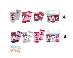 3 pack baby sokjes Minnie Mouse