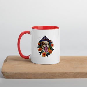 Buffy California Mug with Color on Handle & Inside