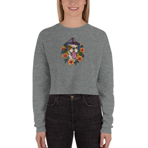 Premium Buffy California Women's Crop Sweatshirt