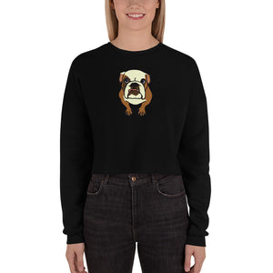 Premium Buffy Women's Crop Sweatshirt