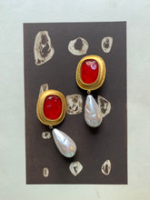 Load image into Gallery viewer, Vintage Ann Taylor clip-on statement earrings