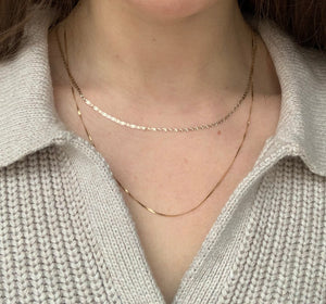 Twisted Herringbone Chain