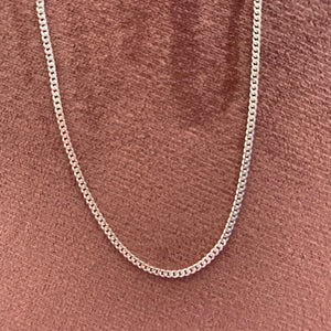 Cuban Link Chain (Sterling Silver)