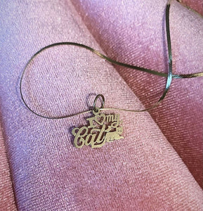 I Love My Cat Vintage Charm