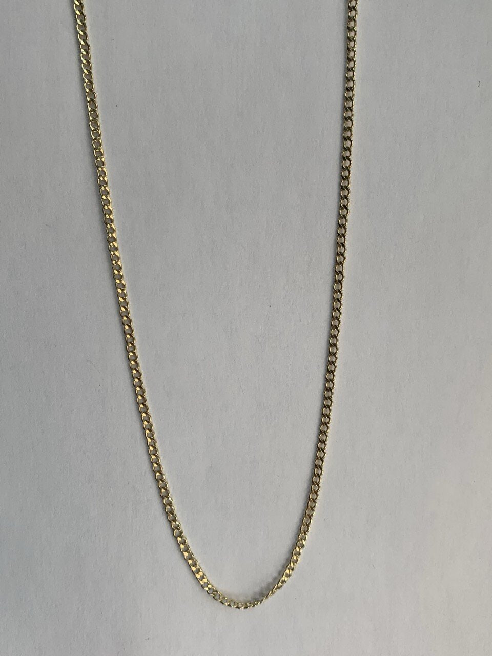 14KY Cuban link chain