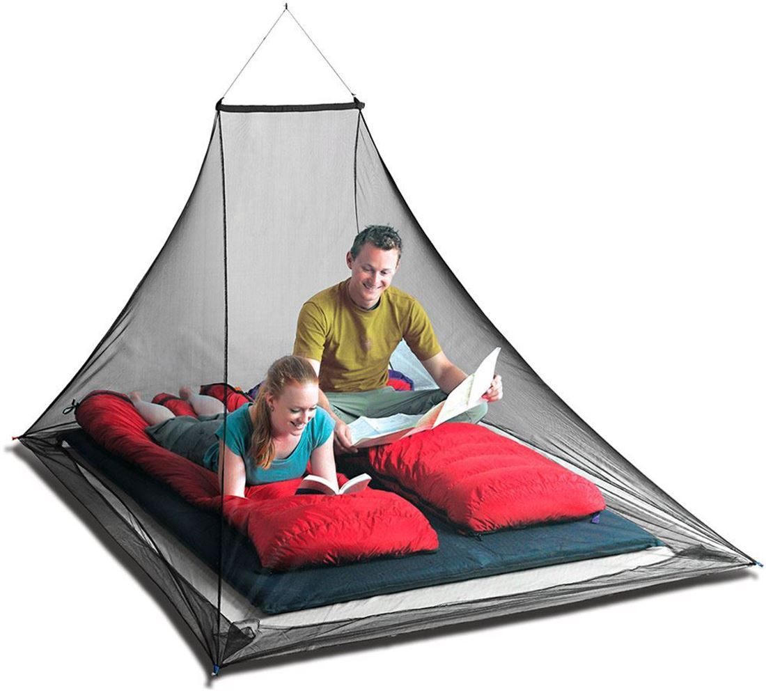 SEA TO SUMMIT DOUBLE MOSQUITO NET PERMETHRIN TREATED
