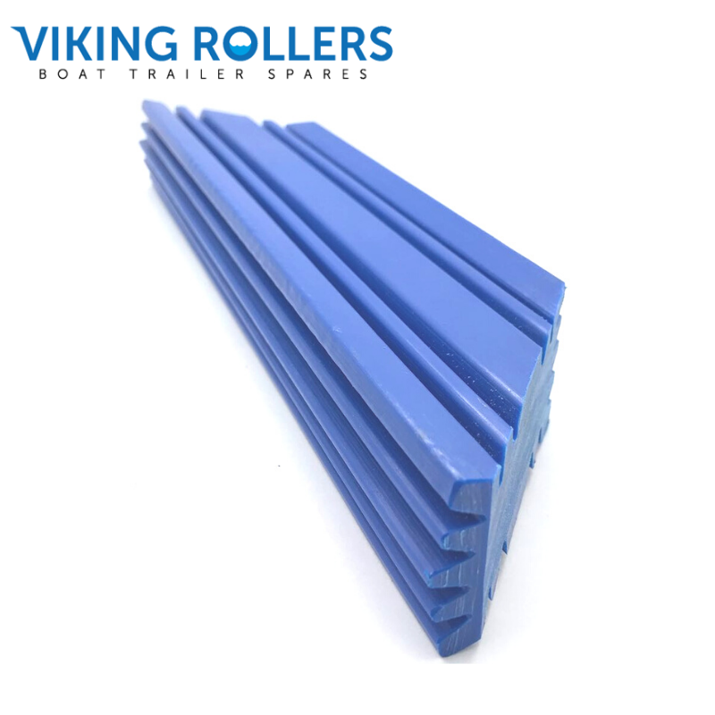 TRAILER BLOCK 300MM BLUE NYLON