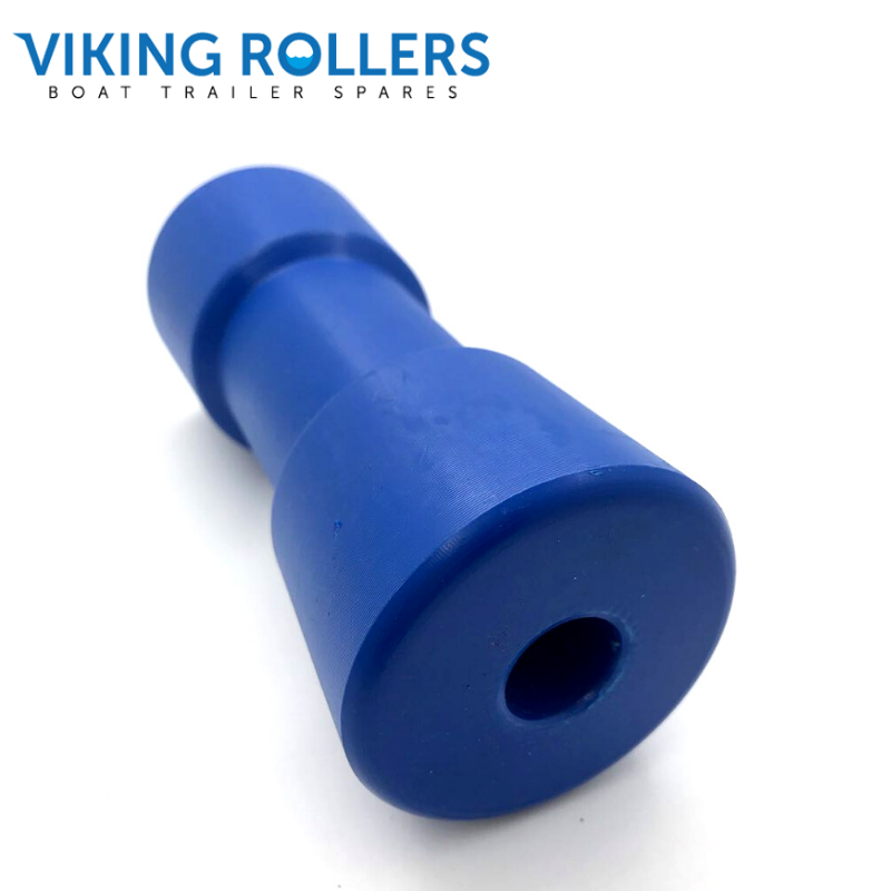SYDNEY ROLLER 6 INCH WIDE BLUE NYLON 17MM HOLE