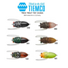 TIEMCO TRICK TROUT TINY CICADA 34MM
