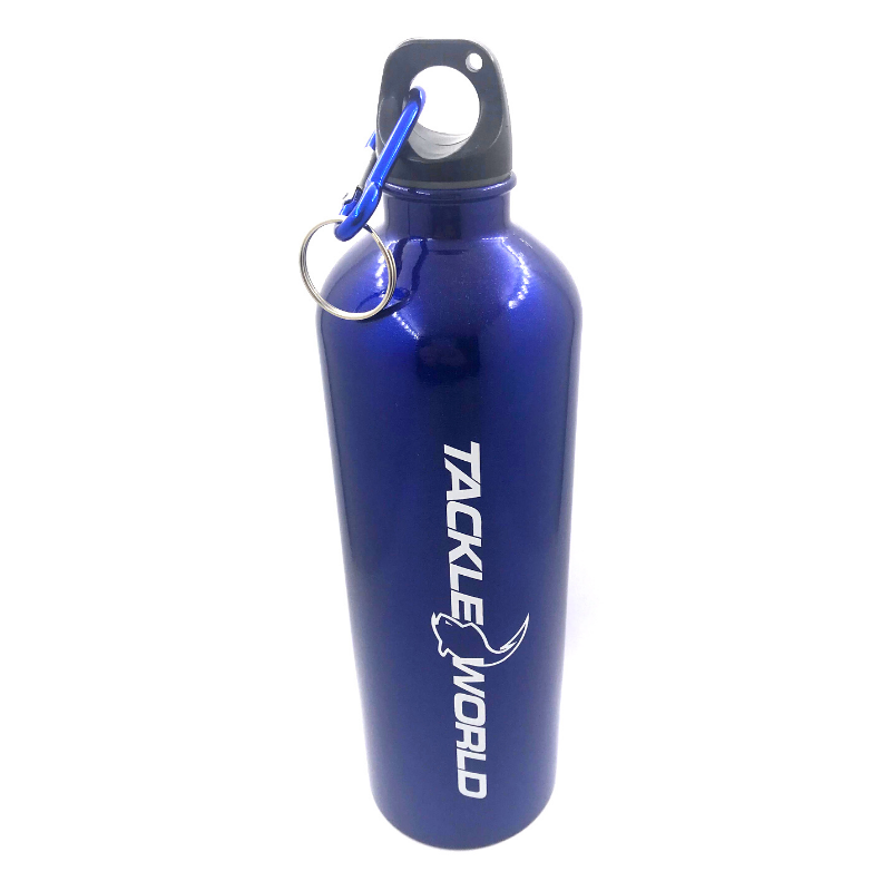 TACKLE WORLD DRINK BOTTLE BLUE