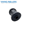 VIKING 3 INCH WIDE BOW ROLLER BLACK