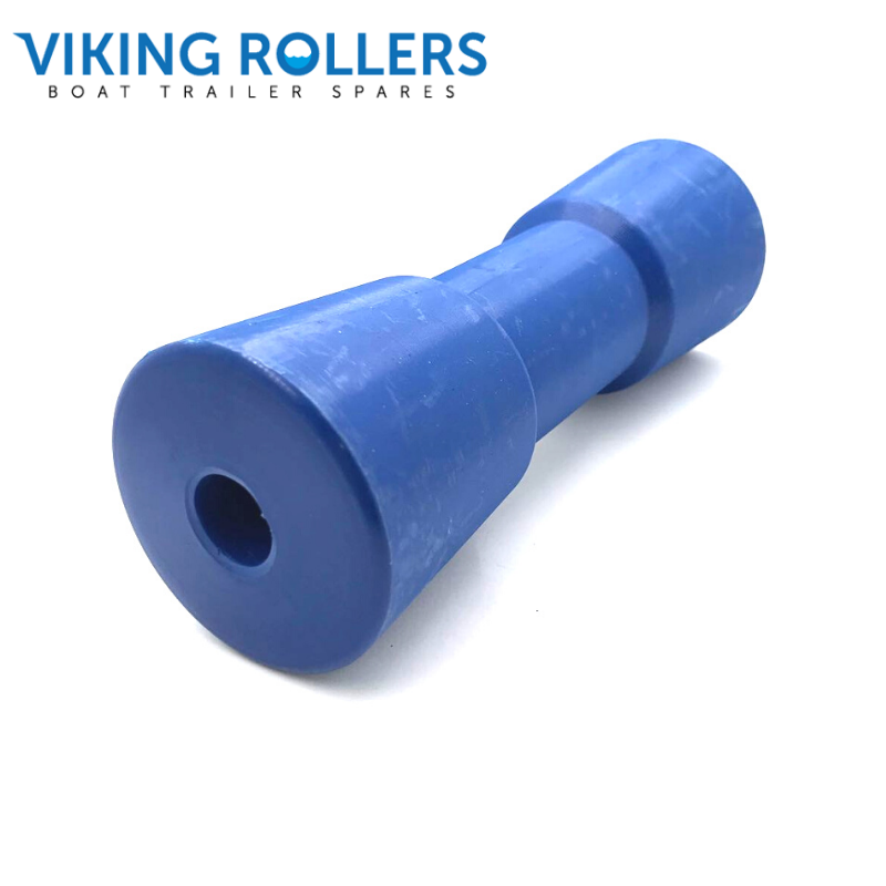 SYDNEY ROLLER 8 INCH WIDE BLUE NYLON 17MM HOLE