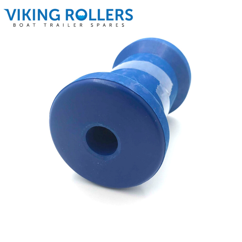 MAGNALENE KEEL ROLLER 4 1/2 INCH COTTON BLUE 17MM HOLE