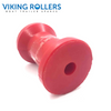 WATERLINE 4 1/2 INCH WIDE RED POLY COTTON REEL ROLLER
