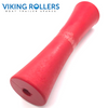 12 INCH CONCAVE ROLLER RED 25MM