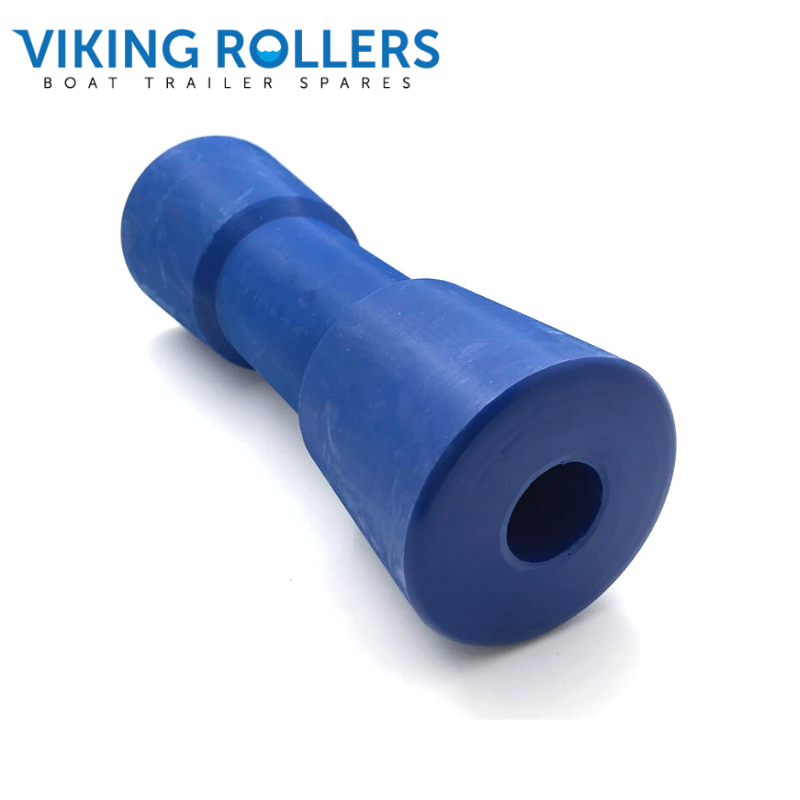 SYDNEY ROLLER 8 INCH WIDE BLUE NYLON 22MM HOLE