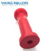 KEEL ROLLER 8 INCH RED POLY SOFT 21MM HOLE