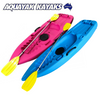 AQUAYAK BANJO DELUXE KIDS KAYAK 65KG WITH PADDLE