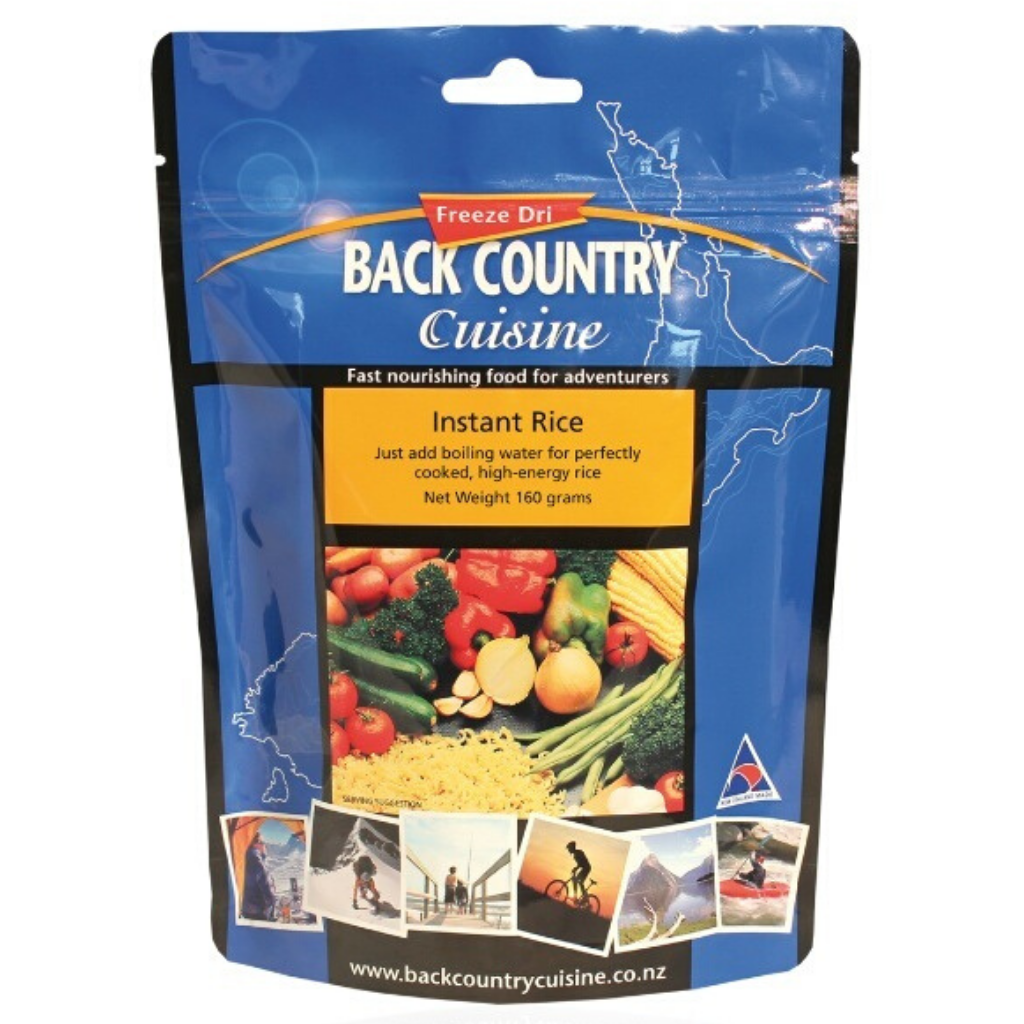BACK COUNTRY INSTANT RICE 510G