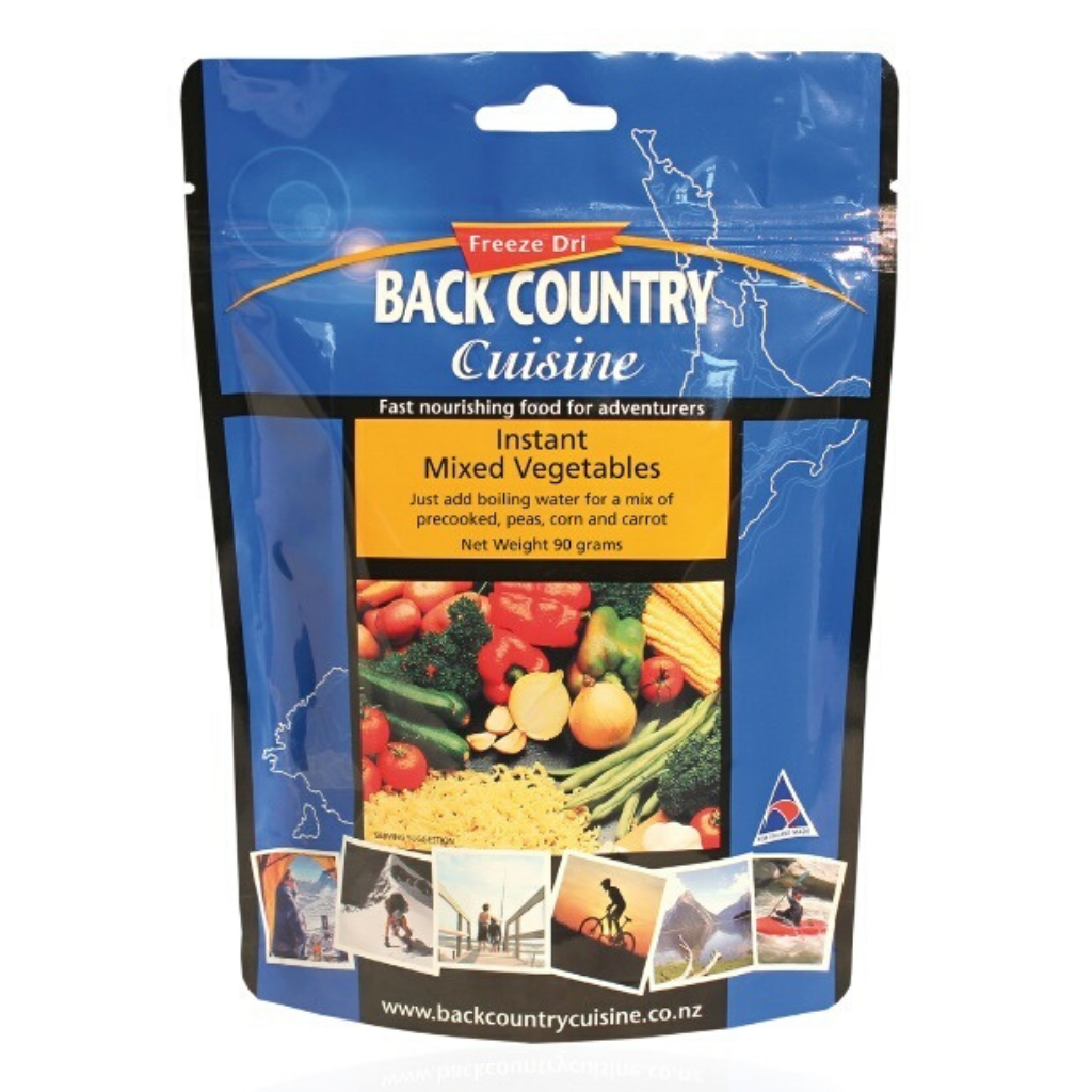 BACK COUNTRY INSTANT MIXED VEGETABLES