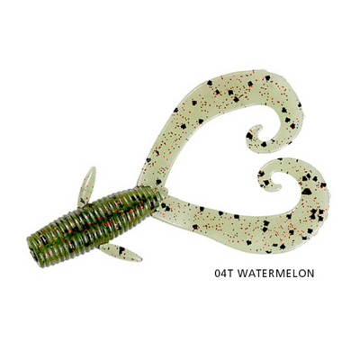 SQUIDGIE BIOTOUGH GRUB DOUBLE TAIL 65MM