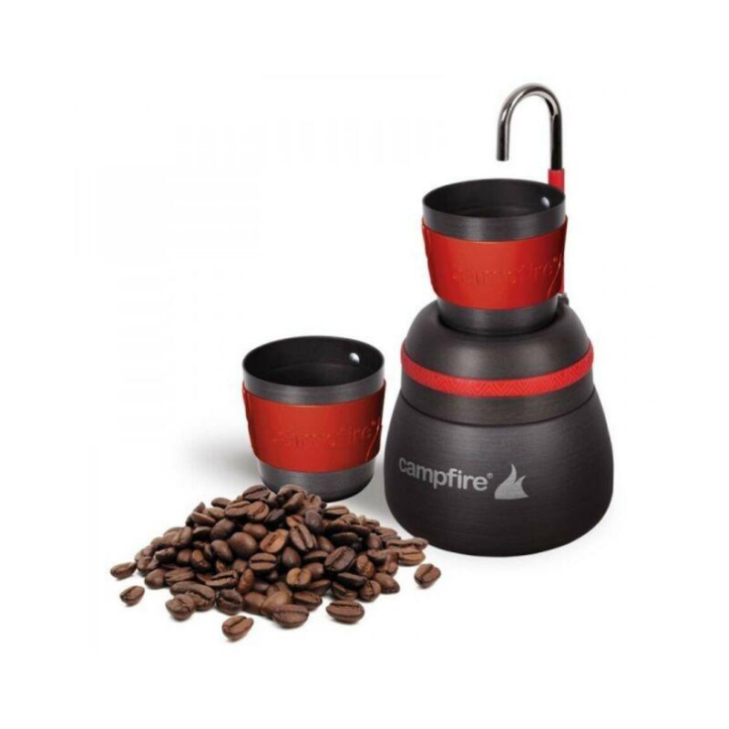 CAMPFIRE ANODIZED COFFEE PERCOLATOR 2 CUP