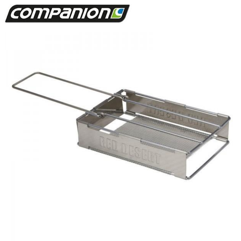 COMPANION FOLD DOWN STAINLESS STEEL TOASTER
