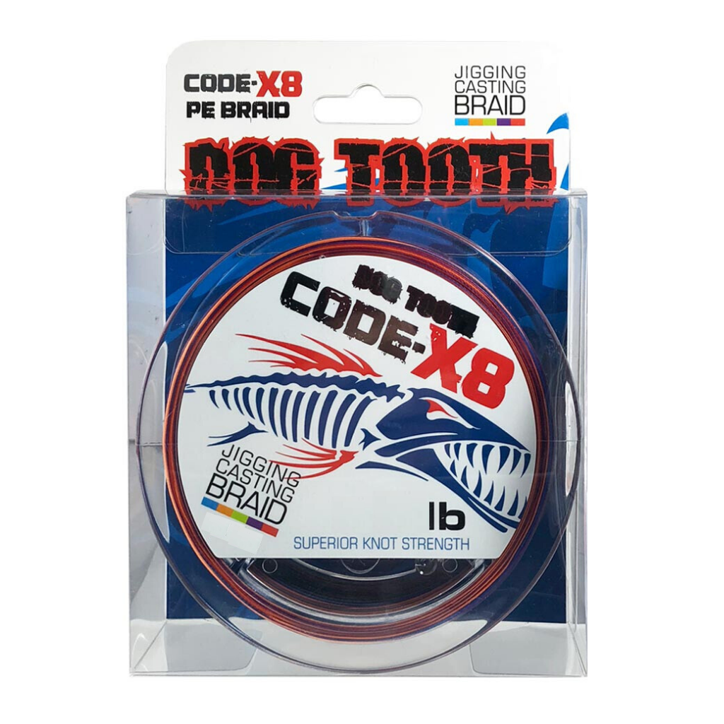 DOG TOOTH CODE X8 JIGGING BRAID 600M