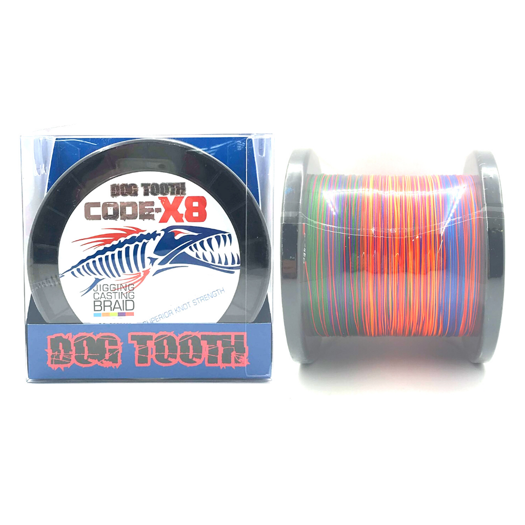 DOG TOOTH CODE X8 JIGGING BRAID 1200M