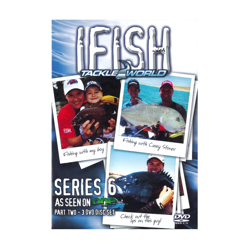IFISH DVD SERIES No 6.2 3 DVD DISC SET