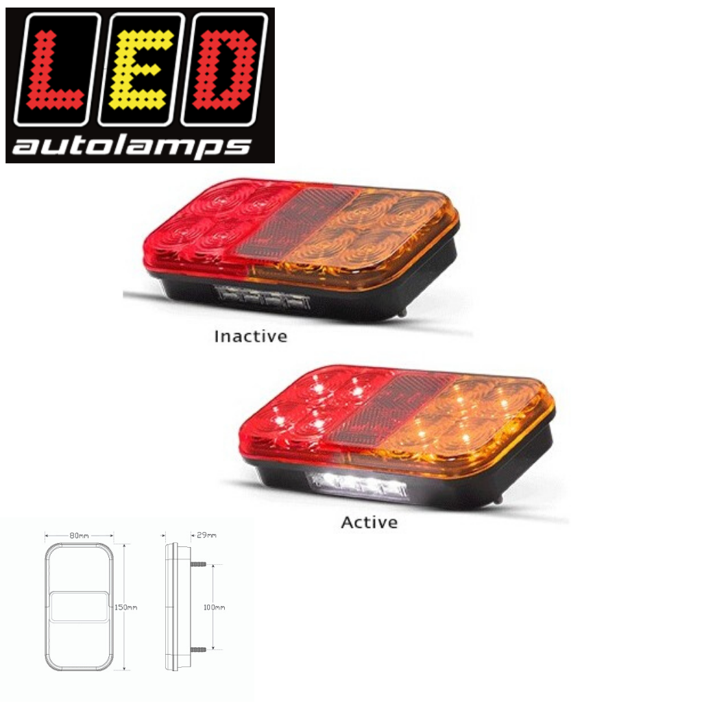 149 LED TRAILER LAMP AND CABLE 10M