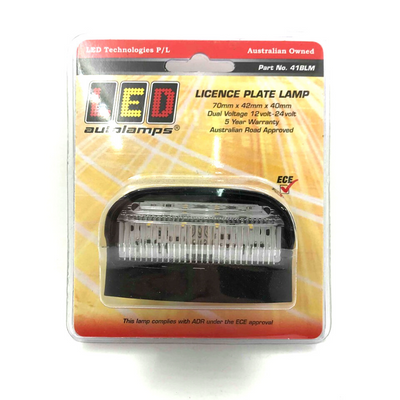 LED LICENCE PLATE LAMP