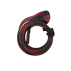 MARITEC ROD SOCK 30MM X 1.6MT RED/BLACK