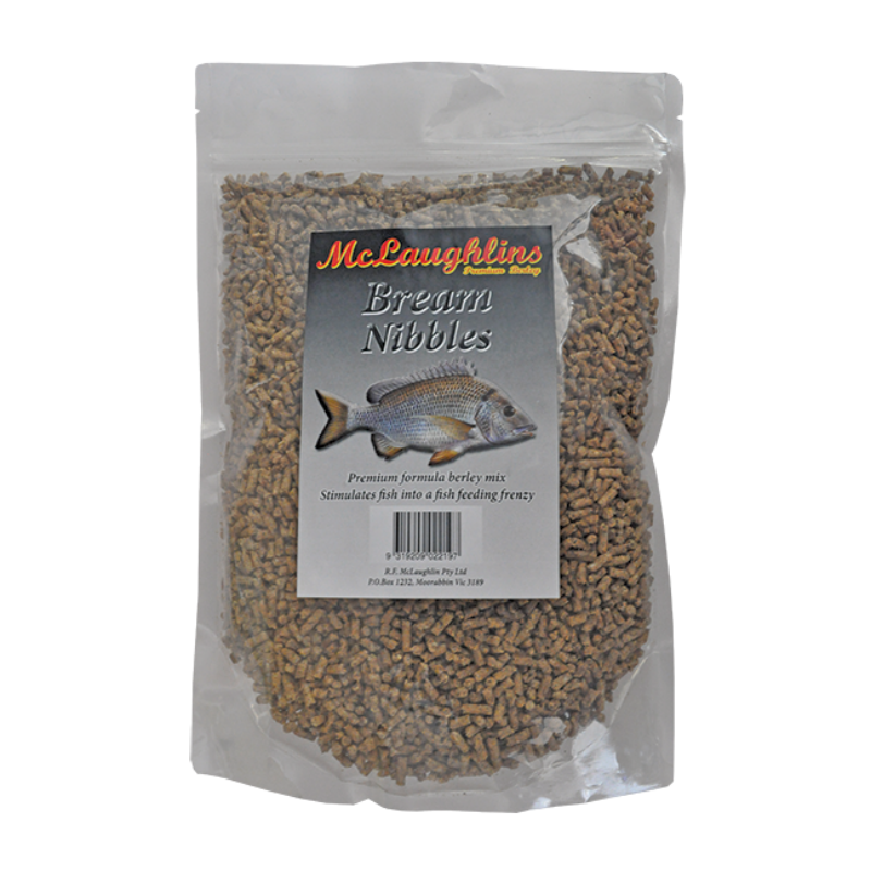 MCLAUGHLINS BREAM NIBBLES 1KG