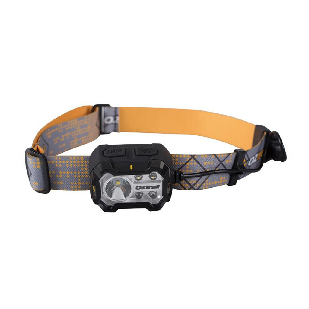 OZTRAIL 300L RECHARGEABLE HALO HEADLAMP