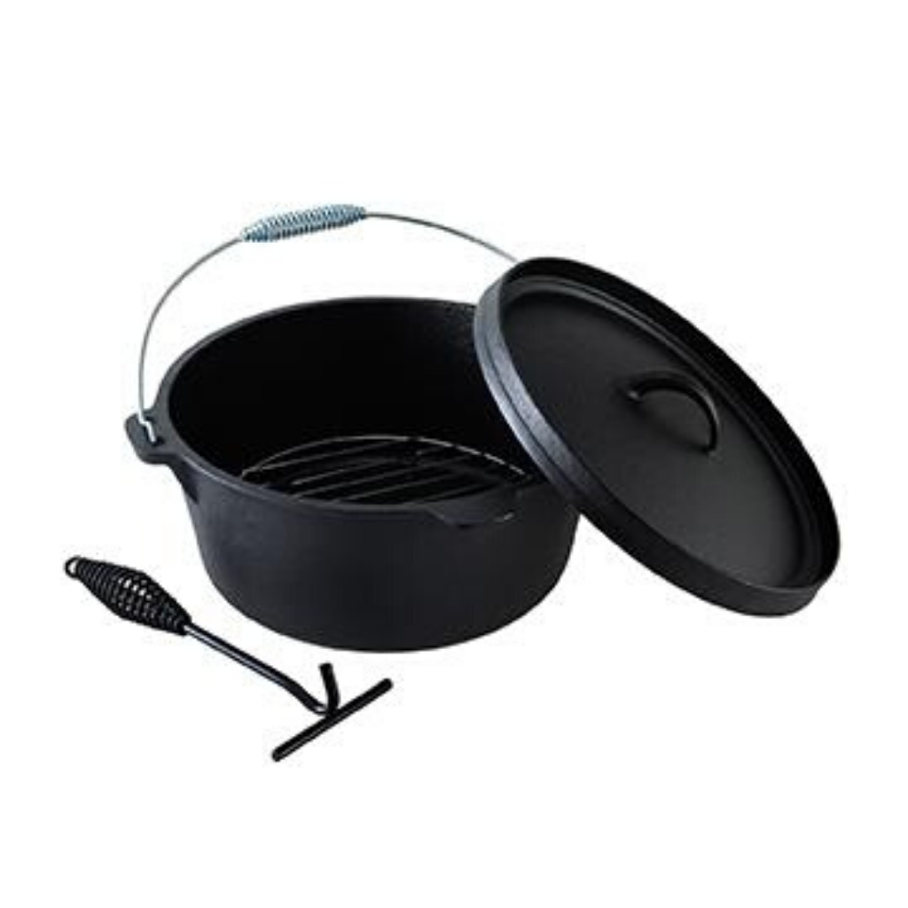 OZTRAIL PIONEER 9 QUART DUTCH OVEN SET