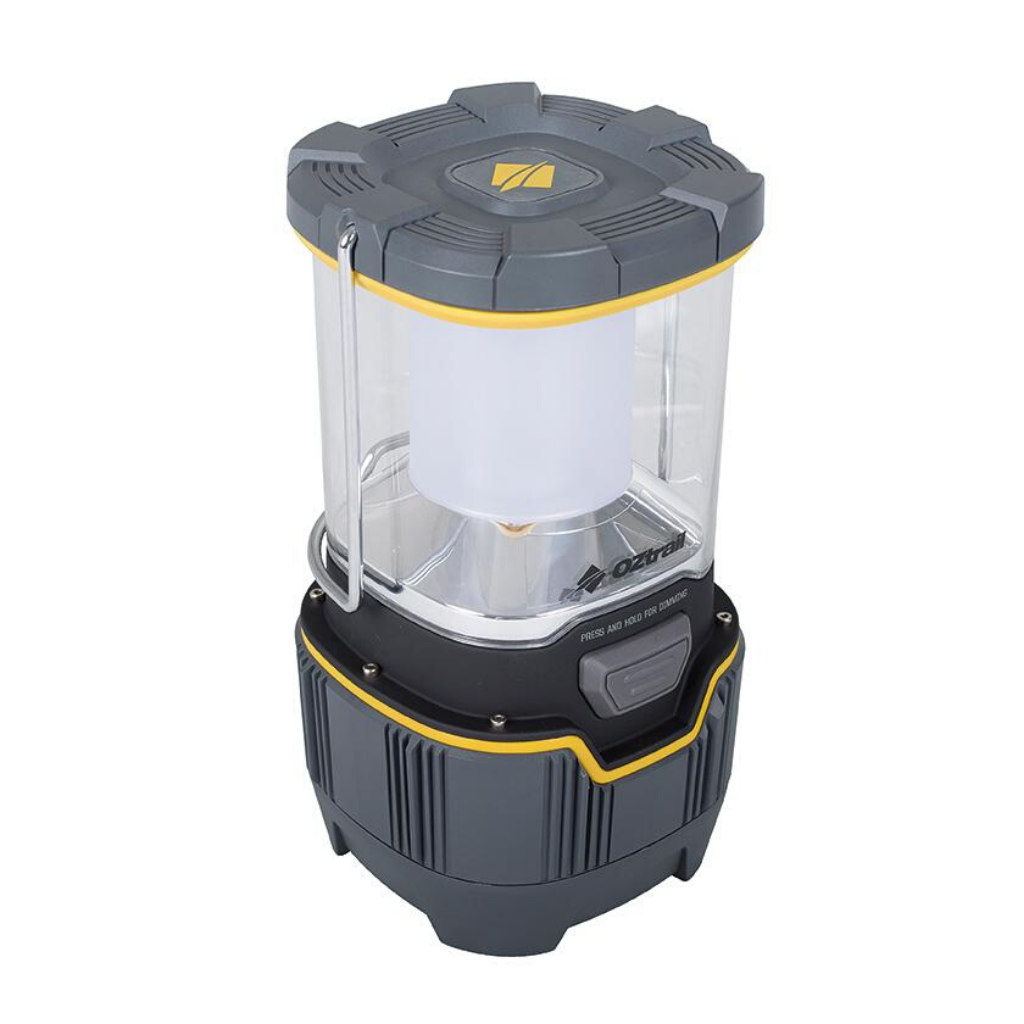 OZTRAIL LUMOS LANTERN 1000L RECHARGEABLE