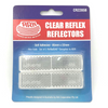 ARK CLEAR REFLECTORS 22X85MM 2PK