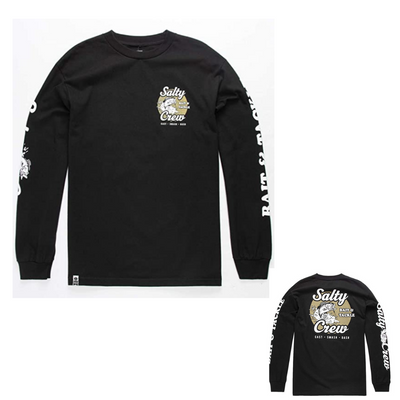 SALTY CREW BAIT AND TACKLE L/S TEE