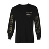 SALTY CREW BRUCE L/SLEEVE T-SHIRT BLACK