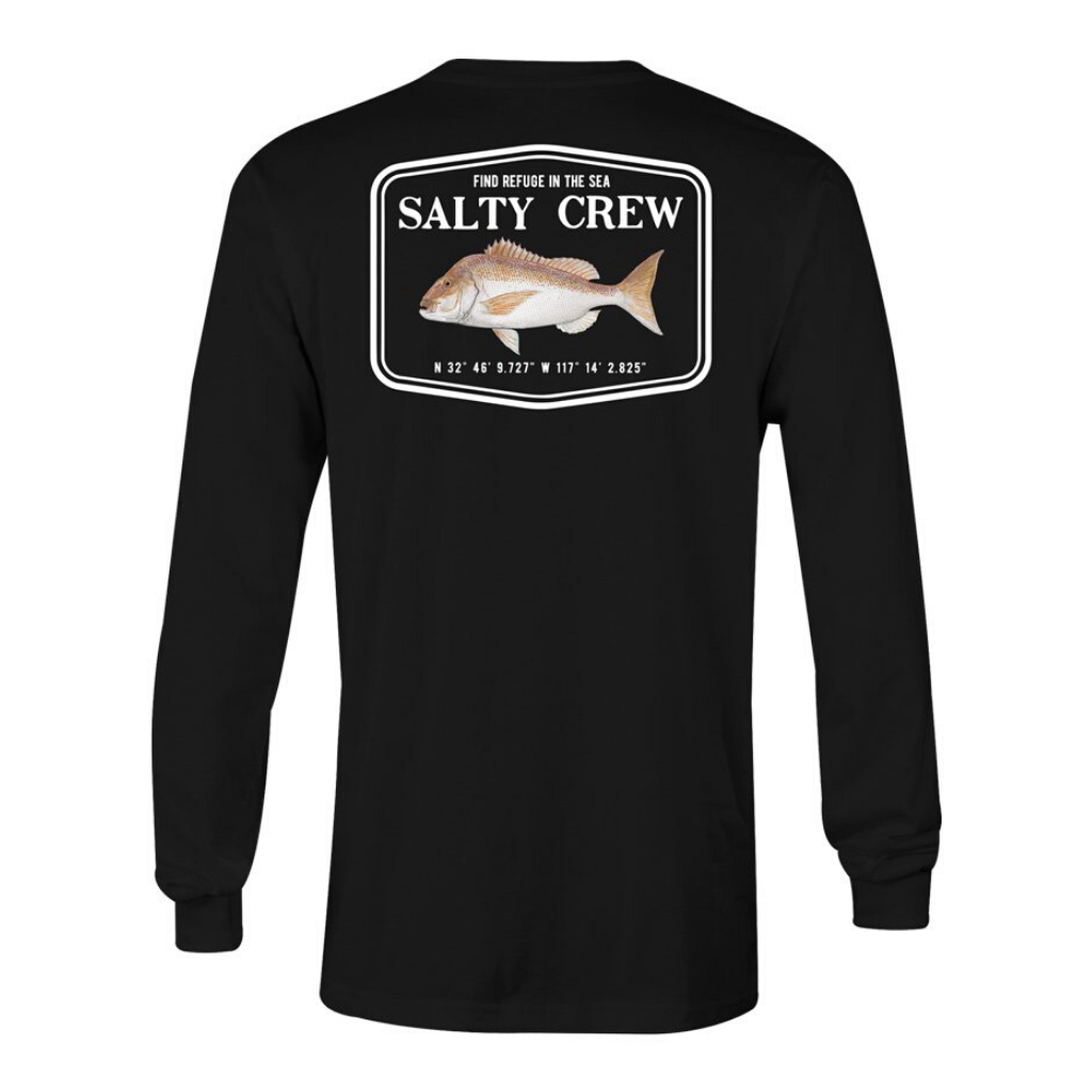 SALTY CREW SNAPPER MOUNT LS TEE