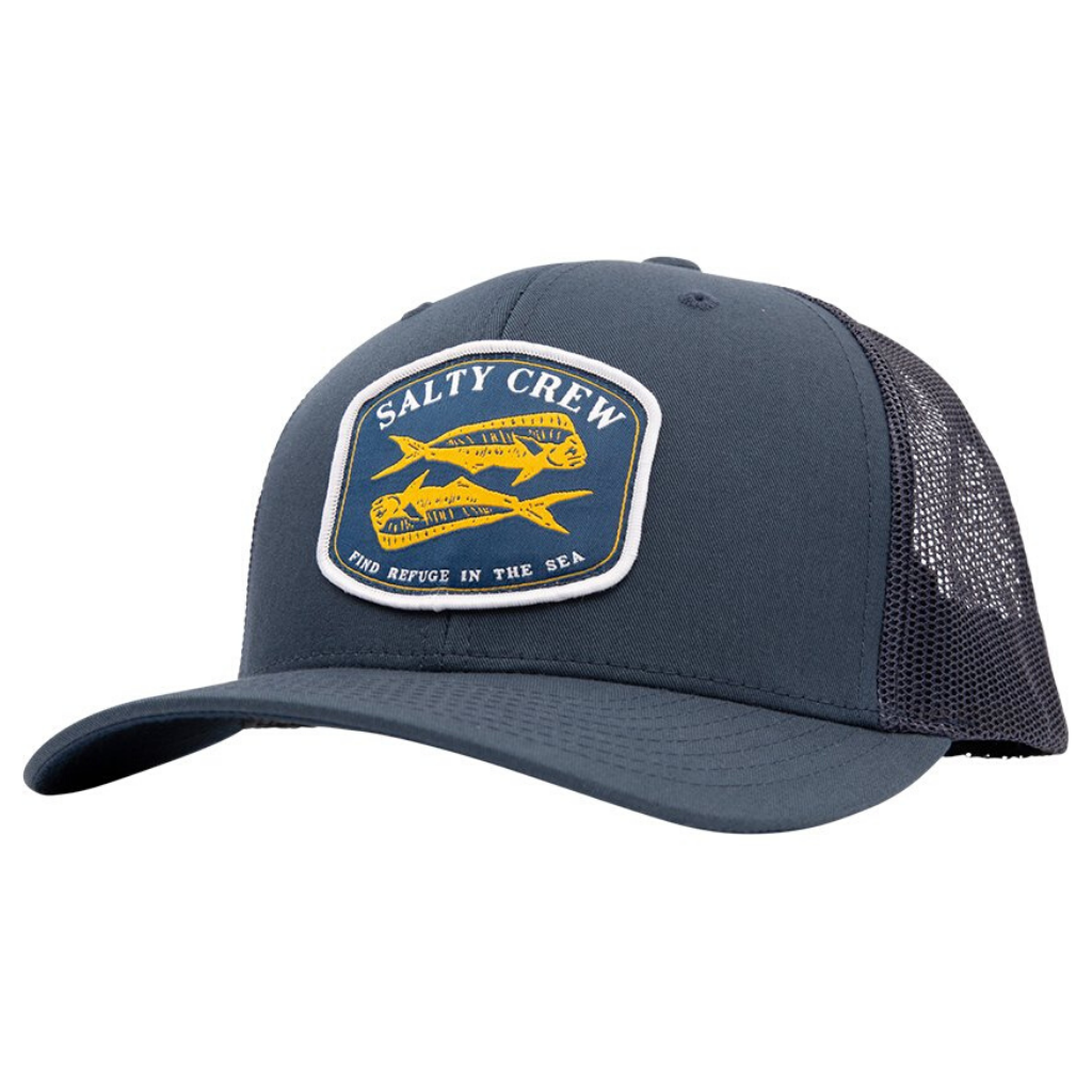 SALTY CREW DOUBLE UP RETRO TRUCKER CAP