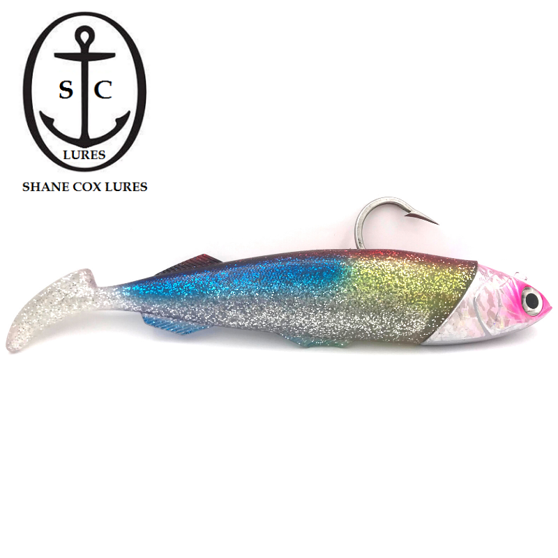 SC LURES BLUEWATER PLASTIC 9/0 150LB TRACE