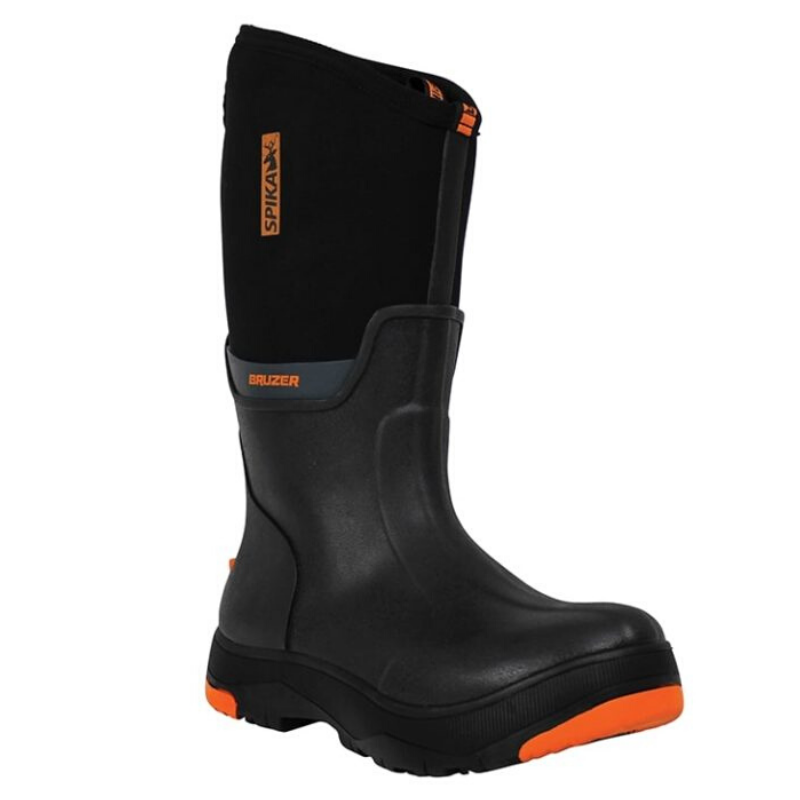 SPIKA BRUZER GUMBOOT BLACK MENS