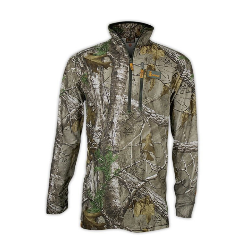 SPIKA TRACKER LONG SLEEVE TOP CAMO