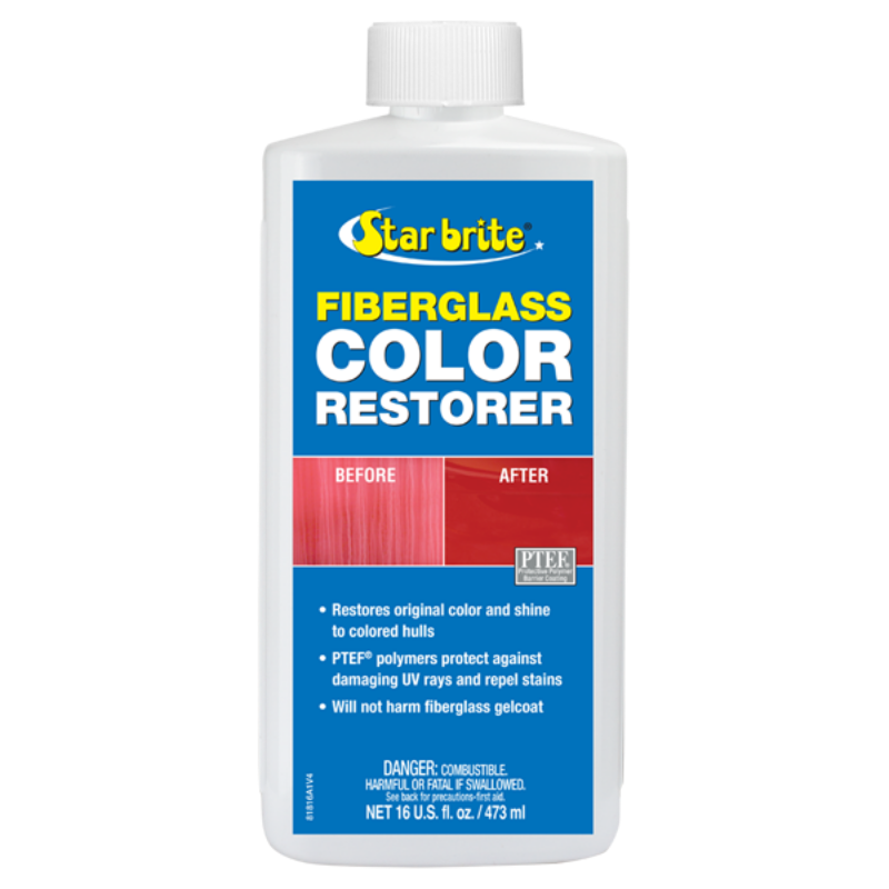 STARBRITE FIBREGLASS COLOUR RESTORER WITH PTEF 473ML