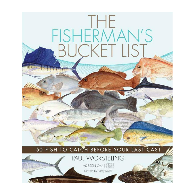 THE FISHERMANS BUCKET LIST BOOK