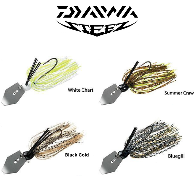 DAIWA STEEZ COVER CHATTER 1/4OZ