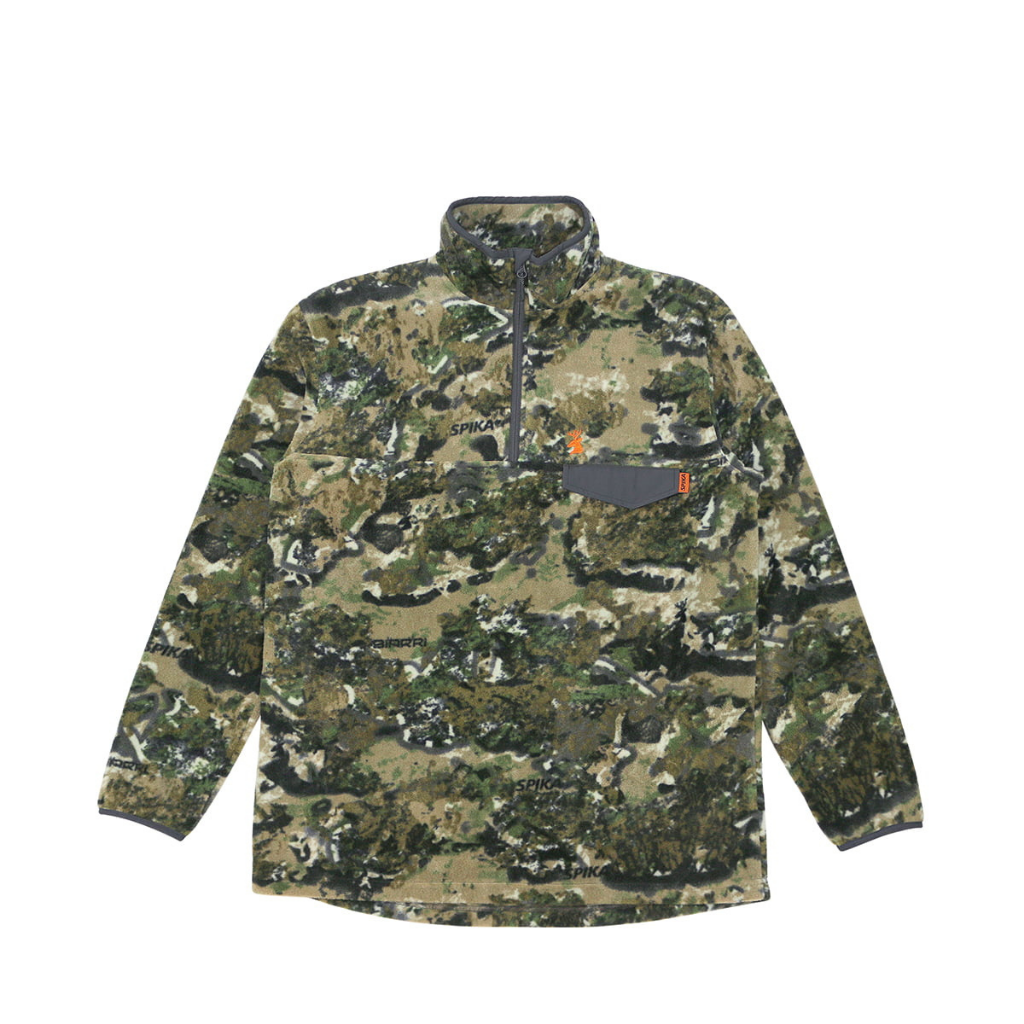 SPIKA BASECAMP FLEECE JUMPER BIARRI CAMO